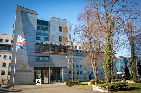 Siedziba Urzędu przy ulicy Cieplińskiego 4